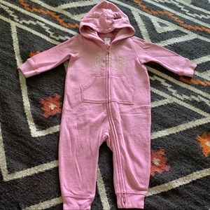 Gap Fleece Jumpsuit